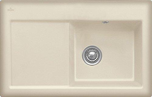 Villeroy & Boch Subway 45 Cappuccino Keramik-Spüle Beige Küchenspüle Spültisch