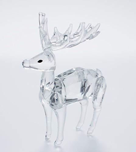 IXO/ALTAYA/ATLAS Crystal Style Hirsch hochwertige geschliffene Kristall Figur für Sammler -