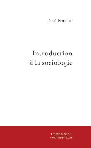 Introduction à la sociologie (SAVOIR) par Guy Mariette