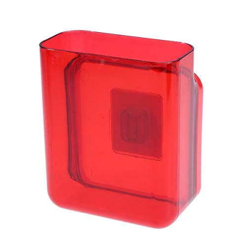 Ounona custodia autoadesiva per telecomando portapenne supporto per telecomando (rosso)
