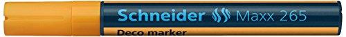 Preisvergleich Produktbild Schneider Schreibgeräte Windowmarker Decomarker Maxx 265, 2-3 mm, orange