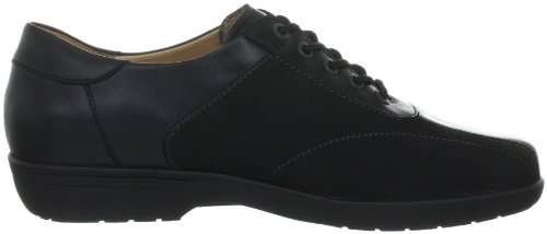 Ganter Anke Weite G 4-205038, Chaussures à lacets femme Noir-TR-J2-11