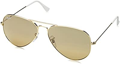 Ray-Ban - Gafas de sol Aviador RB3025 para hombre, Gold