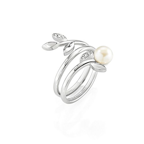 Morellato Anello Donna gioia Acciaio Inossidabile Cristallo Bianco SAER26014