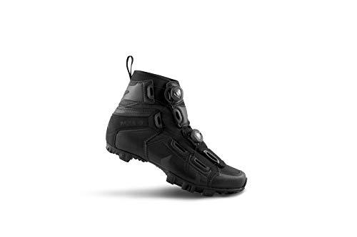 Lake scarpe da ciclismo 2018uomo mx145-x Wide mountain ciclo-nero 45