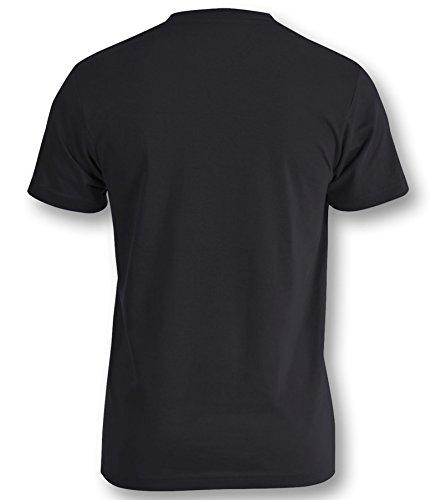 Saiyajin Herren T-Shirt Schwarz/Weiss