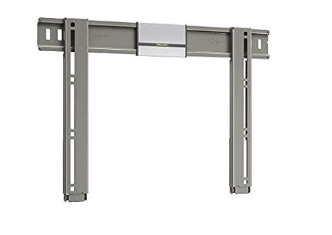 Vogel's THIN 205 TV-Wandhalterung für 66-140 cm (26-55 Zoll) Fernseher, starr, max. 25 kg, Vesa max. 400 x 400, silber