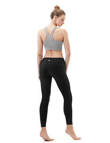 Tesla yoga pantaloni leggings mid-waist W tasca nascosta FYP41/FYP51 TM-FYP41-BLK