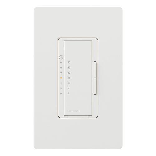 Lutron MA-T530G-WH Maestro eco-timer Single-Pole, White by Lutron -