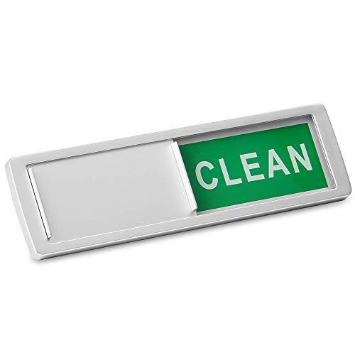 / schmutzig Zeichen | Magnet- oder Haftanzeiger | Spülmaschine Erinnerung | Verwirrung beseitigen | M&W (Silber) ()