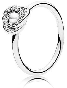 Pandora 191040WCP-56 Ring glänzender Liebesknoten