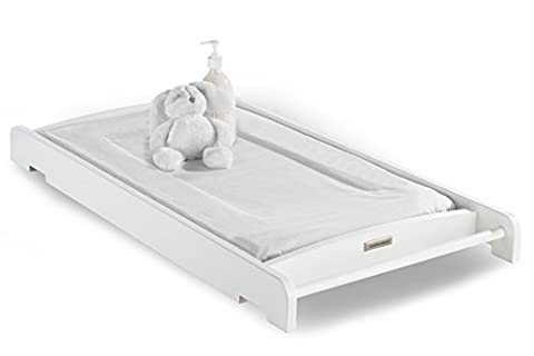Izziwotnot Tranquility Cot Top Changer White