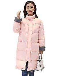 1f5ef1c2a211e Weimilon Parka Caliente Invierno Elegante Largo Abrigo Manga Largas  Acolchado Mujer Delgado Outdoor Joven es Pluma