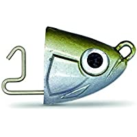 Fiiish Black Minnow - Señuelo de vinilo para pesca (señuelos, need to be reviewed, packs), color plateado, talla UK: 40 g