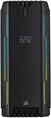 Corsair One i160 2019 Desktop PC Compatto da Gaming Intel Core i9 9900K Raffreddata Liquido RTX 2080 Ti SDD M.2 da 480 GB HDD da 2 TB DDR4 da 32 GB