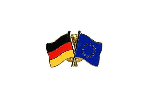 Flaggenfritze® Freundschaftspin Deutschland - Europa
