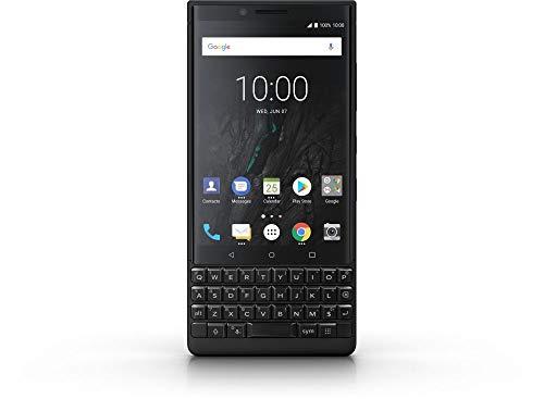BlackBerry Key2 Dual SIM 64GB 6GB RAM BBF100-6 Black (Dual-sim-qwerty Android)
