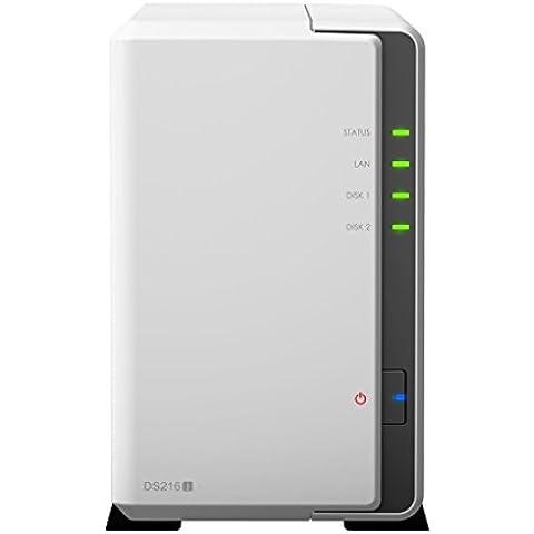 SYNOLOGY DiskStation DS216j 8TB NAS-Server 2-Bay, 2x 4TB HDDs integriert