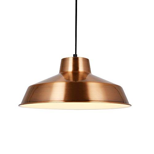 [lux.pro] lampe à suspension design lampe de plafond cuivre métal [Ø35cm] luminaire suspendu