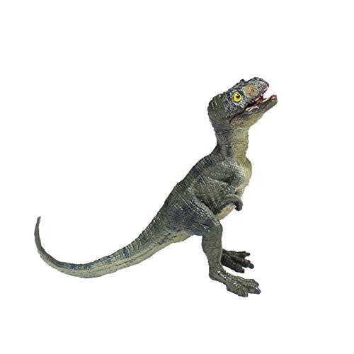 eginvic Tyrannosaurus-Modellspielzeug aus dem Jura-Modell eines simulierten Dinosauriers, Kiefer mit großem Mund kann bewegt Werden, Tyrannosaurus-Lebenszyklus, Simulationsmodell, 3er-Set