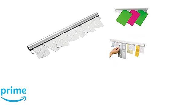Sonline Fourchette de documents en acier inoxydable Stand pour recueillir les documents