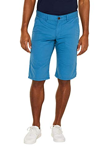 edc by ESPRIT Herren 999CC2C800 Shorts, Blau (Dark Turquoise 460), W38(Herstellergröße: 38)