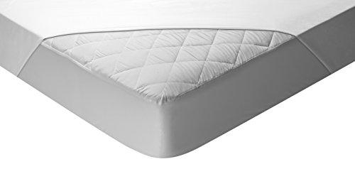 Pikolin Home - Protector de colchón acolchado (cubre colchón) Aloe Vera, impermeable, 90x190/200cm-Cama 90 (Todas las medidas)