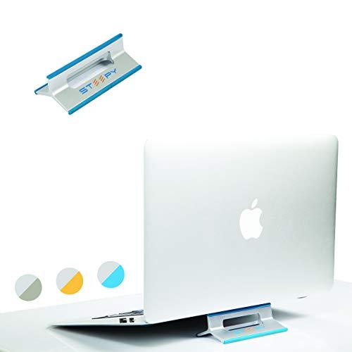 steepy Ständer Riser belüftet Schreibtisch Accesory für Laptop | Notebook | Smartphone | iPad One Size Blau - Blue Ocean (Samsung Tablet Tasche Griffin)