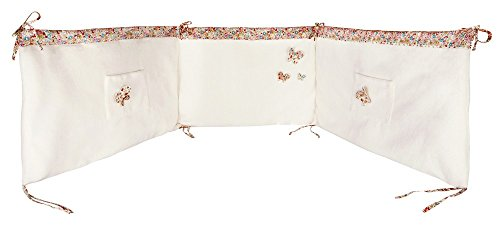 Tour de Lit 210 x 40 cm Trousselier Chambre Ange Lapin Rose