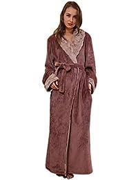 8db75ae4a80a Vestaglia Unisex Coppia Eleganti Fashion Casuali Invernali Autunno Unique  Stlie Pigiama Uomo Donna Addensare Nightdress Manica