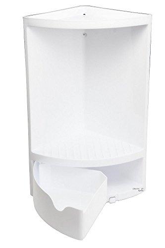 Stil; In Hoomtaook Badezimmer Dusch-eckregal Wandmontage Rostfrei Aluminium Kein Bohren Modischer