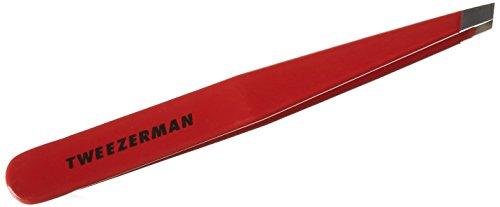 Tweezerman Pince à épiler biseautée Rouge # tz1230rp