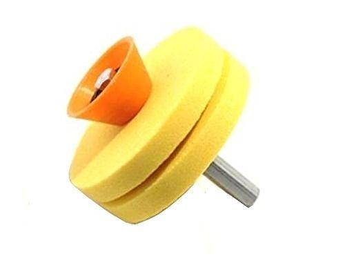 Mola ruota affila coltelli e forbici per trapano 55 mm