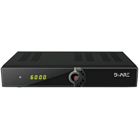 BWARE JB007 receptor satelite HD con Conax y usb wifi