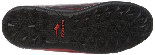 Gola Jungen Axis Vx Fußballschuhe Rot (Red/Black)