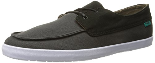 Reef Deckhand Low, Chaussures Homme Noir (Black/Charcoal Blc)