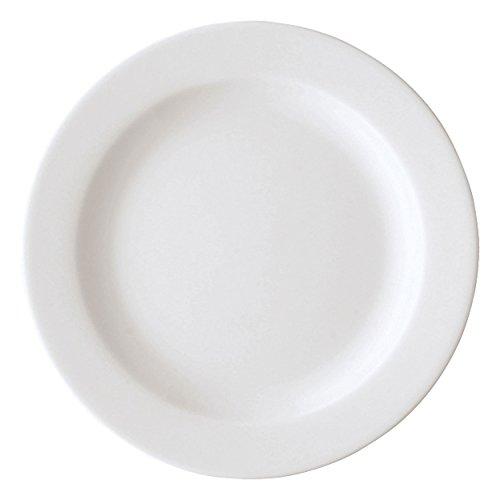 Arzberg Form 1382 Assiette à Petit-déjeuner, Assiette Déjeuner, Assiette en Porcelaine, White, Porcelaine, 19 cm, 41382-800001-10019