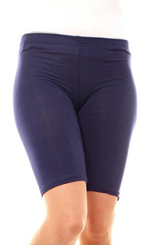 Easy Young Fashion Damen Legging Shorts Kurz Marine