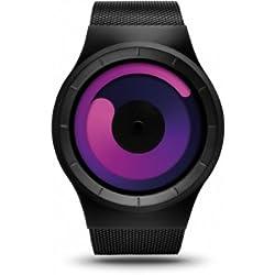 ZIIIRO Watch - Mercury - Black/Purple