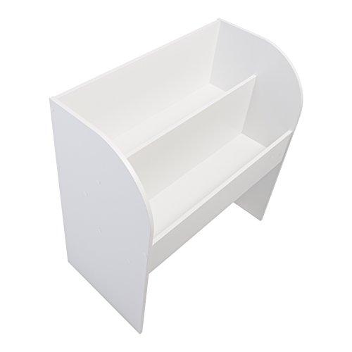 IRIS, Kinder Bücherregal 'Kids Bookshelf' mit Stauraum / Aufbewahrung, Holz, weiß, 67,4 x 36 x 69,8 cm