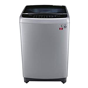 LG 8.0 kg Inverter Fully-Automatic Top Loading Washing Machine (T9077NEDLY, Free Silver)