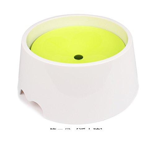 VFNVKNJKNK Hundenapf ohne nassen Mund automatische wasserspender schwimmenden schüssel Splash -B