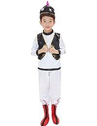 Jian E  Costume da Ballo - Costumi minoranza per Bambini Uygur Hui Costumi  da Ballo Ragazzi 61367d6de164