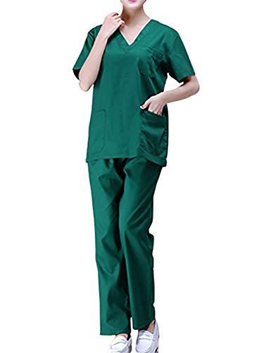 THEE Uniforme Médico Quirúrgica Bata De Laboratorio