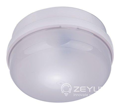 ZEYUN HF-Bewegungsmelder für Innen und Außenbereichen, Deckenmontage, 360°, 10m Reichweite, IP65