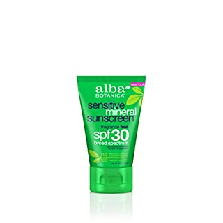 Alba Botanica Sensitive Mineral Fragrance Free Sunscreen Lotion SPF30, 113g