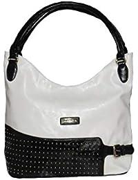 Bagit Black & White Colour Womens And Girls Handbag