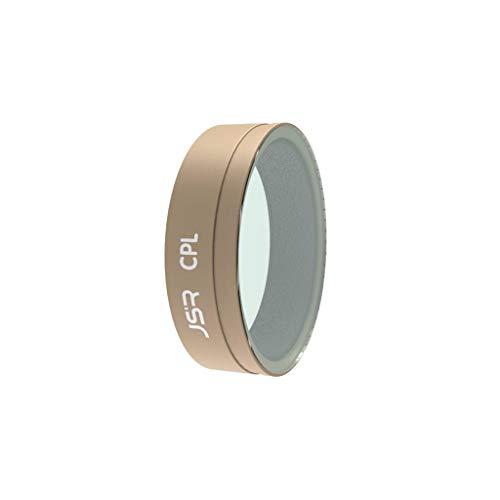 Takkar Objektiv Filter für DJI Osmo Action zubehör - Star, CPL, ND4, ND8, ND16, ND32, UV Filter - Kamera Camera Lens Filters aus optischem Glas und Aluminiumlegierung Rahmen für DJI Osmo Action (CPL)