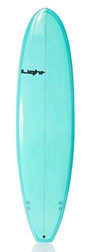 Light Erwachsene Surfboard WTF Resin Tint, Resint Turquoise, 7\'4