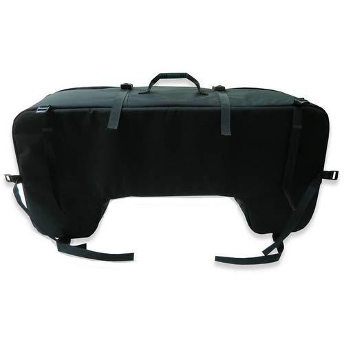 Quad Tasche SCHWARZ HECKMONTAGE GEPÄCKKOFFER Koffer HINTER SCHWARZ 93 X 27 X 23 cm